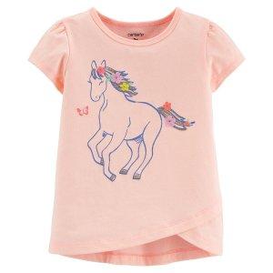 仅剩3MGlitter Horse 小马T恤