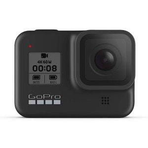 $469(原价$529.99)GoPro HERO8 Black 4K 运动相机