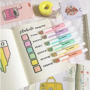 彩色记号笔仅€5.14STABILO 思笔乐点88彩笔、记号笔、彩铅、蜡笔 学习好助手