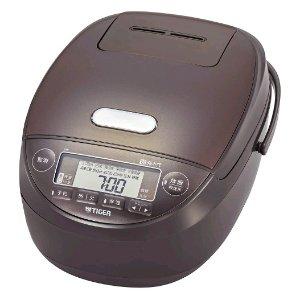 直邮美国到手价$212虎牌 压力IH电饭煲 JPK-B100T 1L 特价