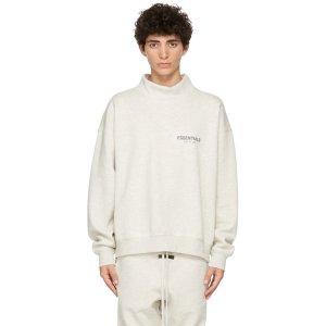 EssentialsGrey Pullover 卫衣