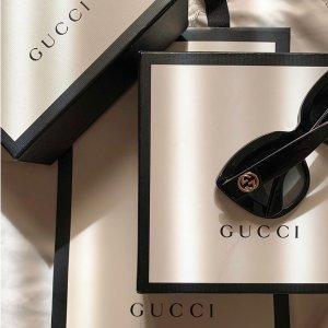 3折起+最高再减$100 上百款热门墨镜Gucci 墨镜专区 圣诞季特惠 热卖猫眼太阳镜$129入