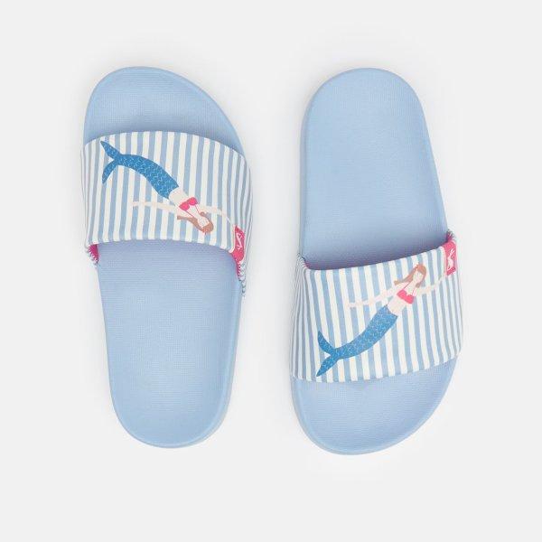 儿童美人鱼拖鞋