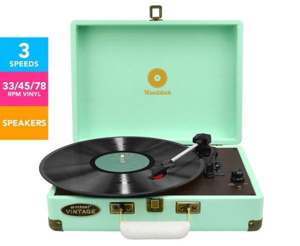 黑胶唱片机 - Tiffany Blue