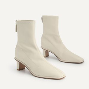 Pedro Shoes$38 off $198Heeled Ankle Boots - Chalk
