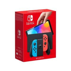 经典红蓝NINTENDO Switch (OLED-Modell)