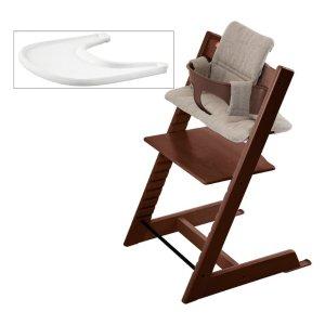$253.9 (原价$339) 包邮补货:STOKKE Tripp Trapp成长椅全套 含椅垫、托盘、Baby Set