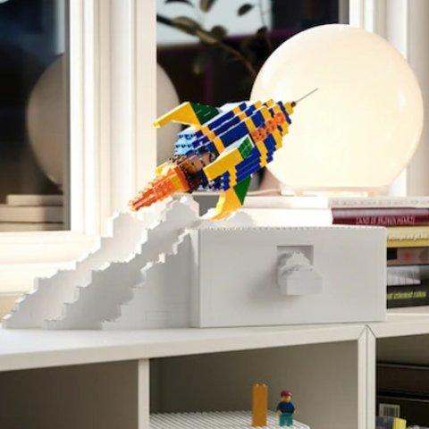 €9.99起收IKEA X LEGO 合作款BYGGLEK产品上线 收纳盒和积木都有