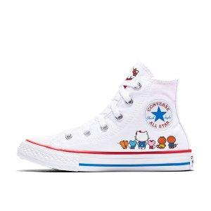 x Hello Kitty 高帮帆布鞋 大童款