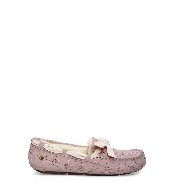 毛绒平底鞋