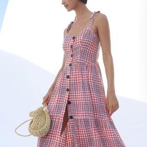 全场连身衣7折 折扣款折上折最后一天:Urban Outfitters 连身裙连体衣大促 夏日活力仙女必备