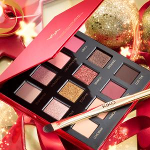 黄金面膜+12色限定眼影 打造女神妆容KIKO官网 圣诞限定上线 魔法假日系列让你变身视觉缪斯