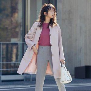 $69.9起 收封面樱花粉Uniqlo 精选风衣热卖 收秀晶同款