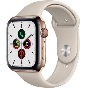 7.2折起 4代再降$100Apple Watch 智能手表 3/4/5代全都有