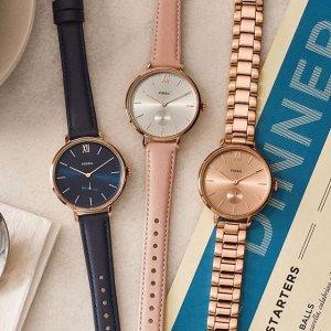 $99Fossil 精选时尚女士手表热卖