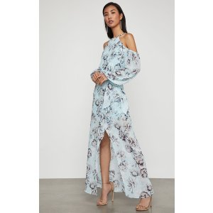 BCBGMAXAZRIAIsabele Floral-Print Maxi Dress