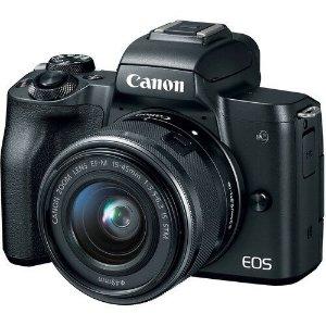 $674.1 澳洲保修5年Canon EOS M50 微单 单镜头套装