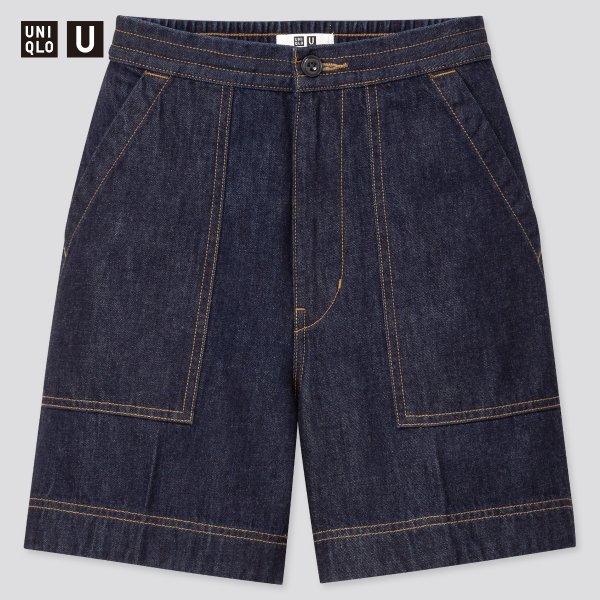 U系列牛仔短裤