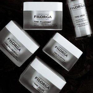 无门槛7折Filorga 法国顶级药妆 收十全大补面膜、逆龄眼霜套装