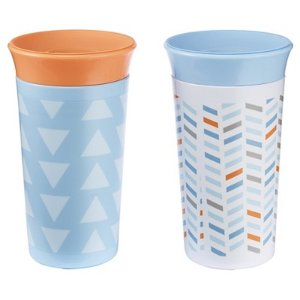 The First Years Simply Spoutless Cup 2pk - Blue : Target