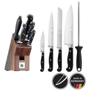 现价€132.86(原价€229)WMF 刀具6件套含刀架 大促 德国制造