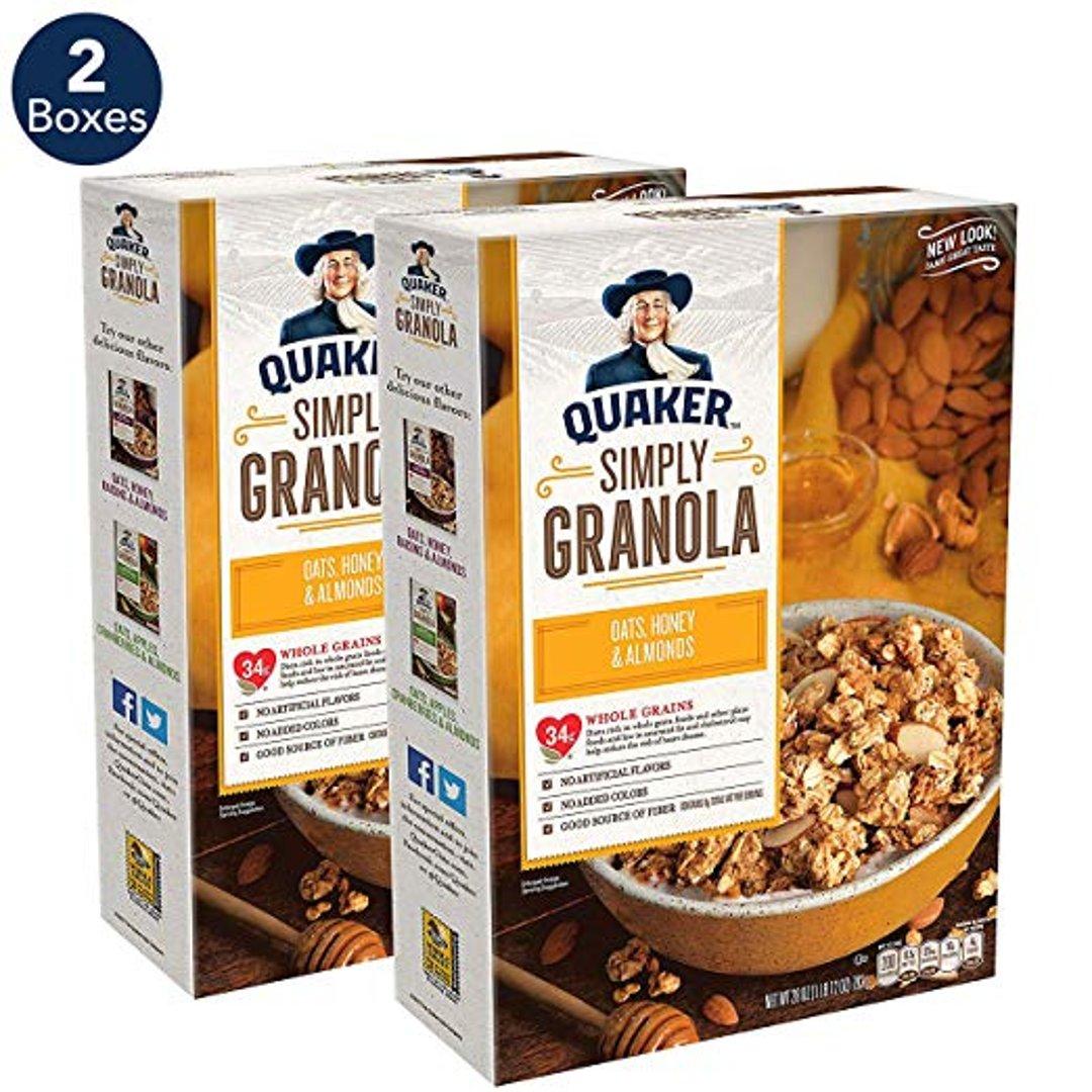 早餐格诺拉燕麦两盒