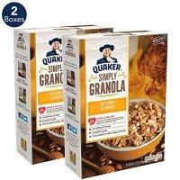 QUAKER 早餐格诺拉燕麦两盒