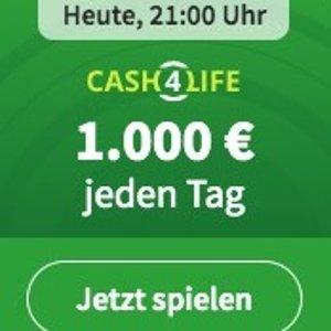 每天€1000现金 终生领取