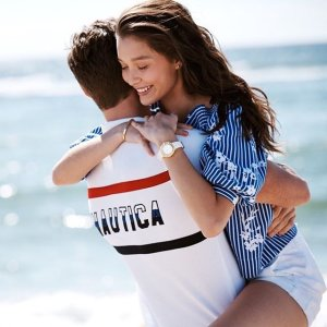 Extra 50% Off + Extra 15% Off or Extra 25% Off $100+Clearance @ Nautica