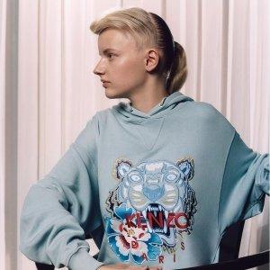 8折 £68收虎头上衣KENZO 全线潮服美包热卖 19年早春新款也有