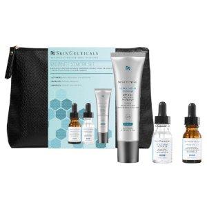 SkinCeuticals价值$227焕彩3件套(含CF精华)
