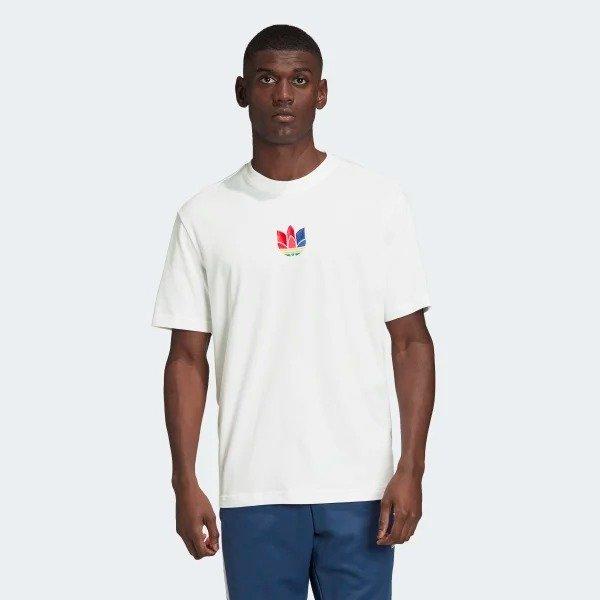 3D 三色标T恤