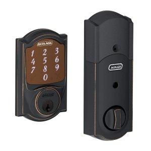 $154史低价:Schlage 智能密码自动门锁