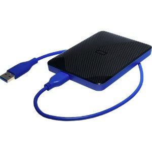 $95.99WD 4TB USB 3.1 PS4 外置硬盘