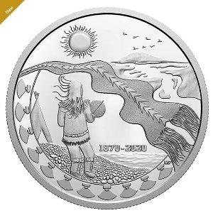 开始预订加拿大皇家铸币厂推出庆祝西北地区150周年纪念币
