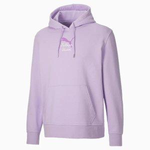 Puma香芋紫卫衣