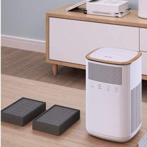 $76.99(原价$109.99)VALKIA 3M-HEPA 家用空气净化器 活性炭过滤器养宠家庭必备