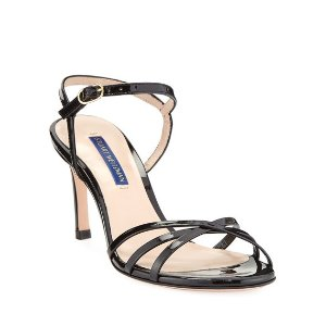 Stuart WeitzmanStarla Patent Leather Sandals
