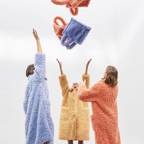 限时8折或满额享8.8折Stand Studio 瑞典小众品牌 收泰迪熊外套、包包 平价又可爱
