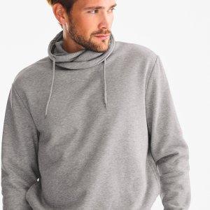 C&A灰色套头卫衣