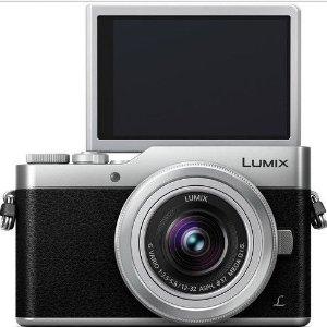 $527 (原价$659)美容修饰+全景自拍Panasonic Lumix GX850 银色相机+12-32mm Kit