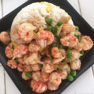 大口吃虾超满足麻辣小龙虾盖饭 在家DIY 简单好吃还实惠