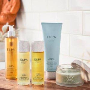 直接8折 + 满额送礼ESPA 英国顶级水疗品牌 享受Spa式护肤 滋养从内到外