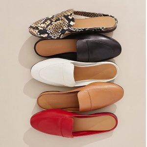 全场7.5折 超柔软穿芭蕾鞋£60上新:Everlane 全场鞋履热卖 明星、网红都爱 超柔软皮革平底鞋色号全