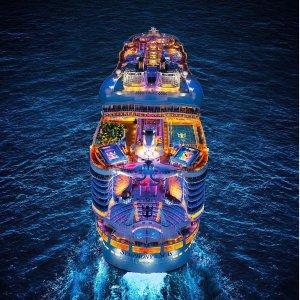 $498起 感恩节性价比之选7晚西加勒比邮轮 皇家加勒比旗舰海洋交响乐号