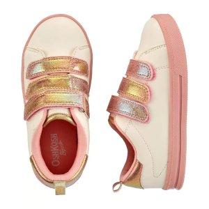 OshKosh B'gosh魔术贴女童休闲鞋