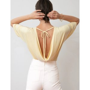 Pixie MarketVanilla Tie Back Tee