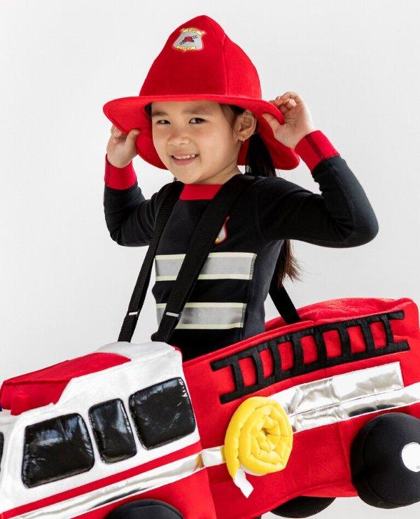 精致消防员帽子