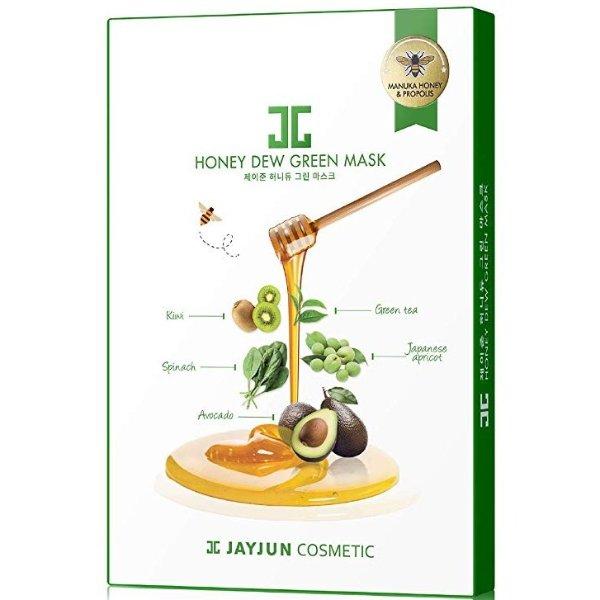 蜂蜜绿蔬果面膜