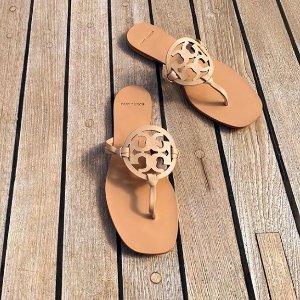 美鞋额外最高5折 + 包包直接6折Tory Burch 鞋子折上折热卖 收新款渔夫鞋
